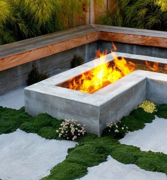 Backyard Fire Pit Landscaping Ideas: Bond Street Blog